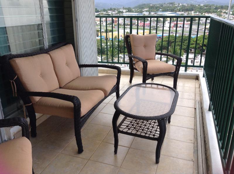 Muebles de terraza al aire libre