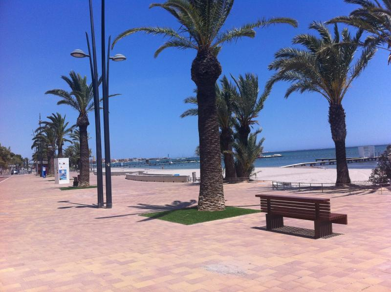 The Mar Menor promenade