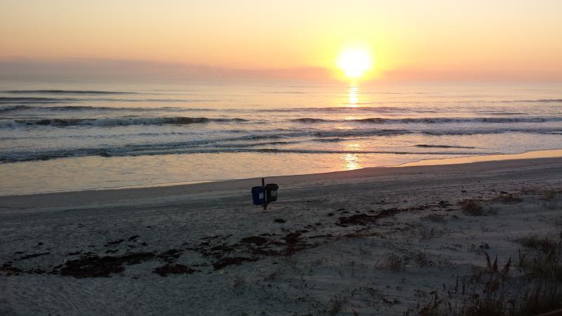 morning Sun Rise on the beach