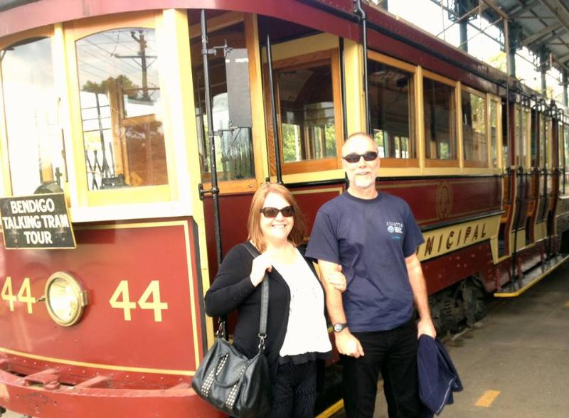 board the talking tram and explore the central Deborah Goldmine