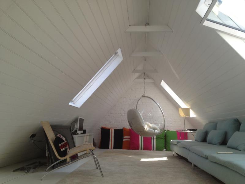 Loft-Wohnzimmer