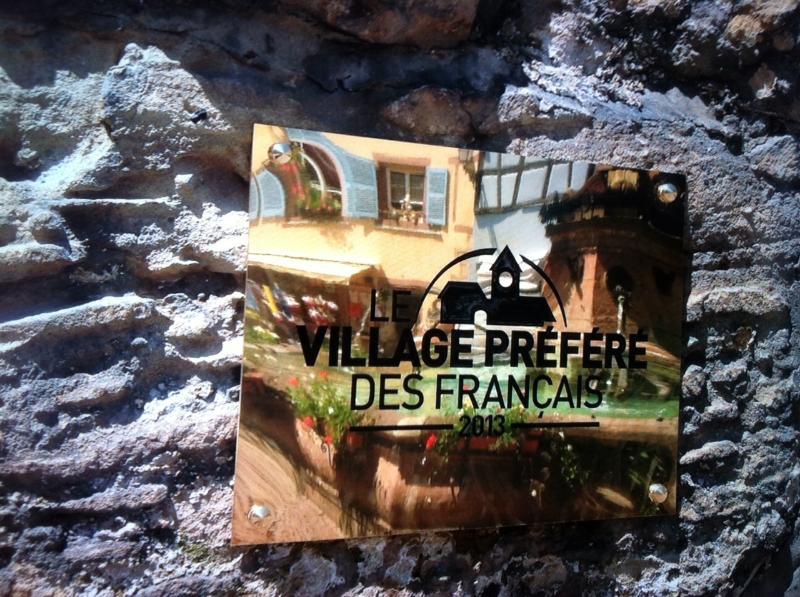 Eguisheim élu le 'village préféré des français 2013'
