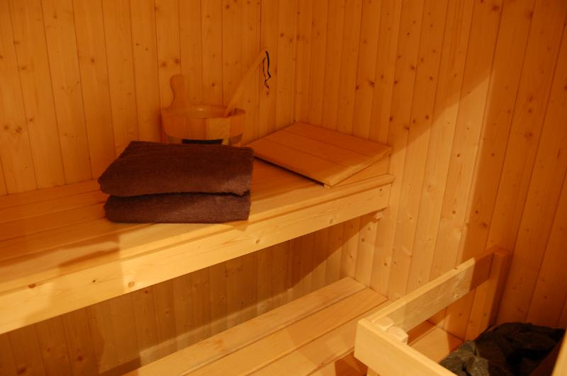 The Secret Yurts sauna.