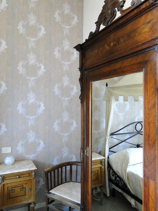The ivory double bedroom from another side