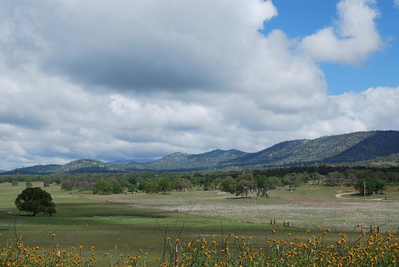 View toward RoundHat Ranch
