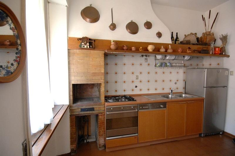 Our bright and fully equipped kitchen