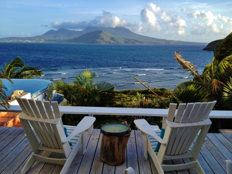 Another great spot to read a book or enjoy a glass of wine with an amazing view.