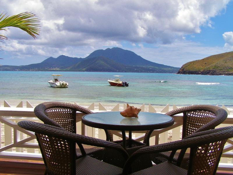 Ocean Song private beach front lounge with honour bar, beach chairs, snorkel equipment & games.