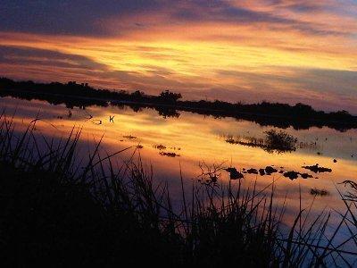 sunset in El Cuyo