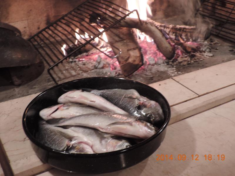 Preparing for barbecue