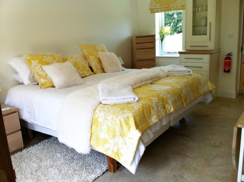 Confortable superking ou lits jumeaux options - laissez-nous savoir votre préférence