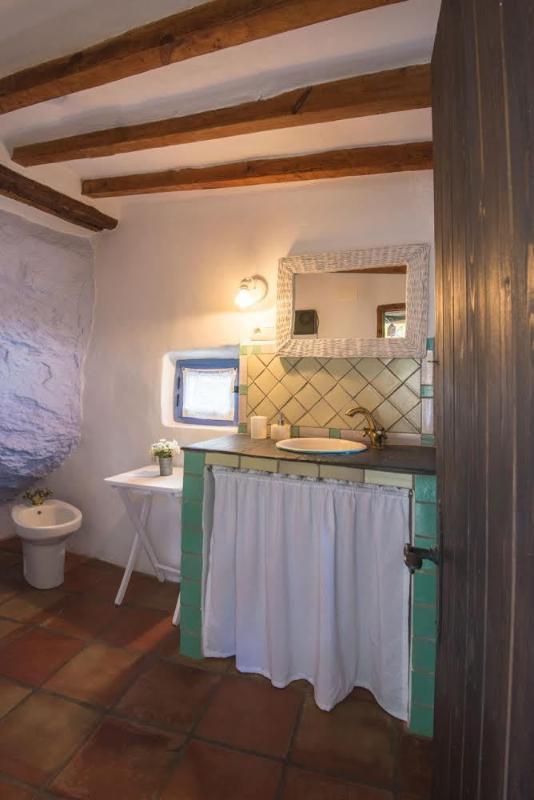 Salle de bain sur le porche