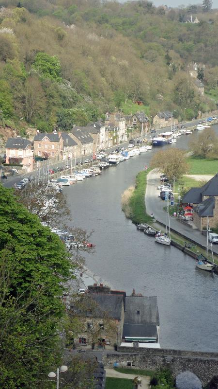 El río Rance desde las murallas de la ciudad