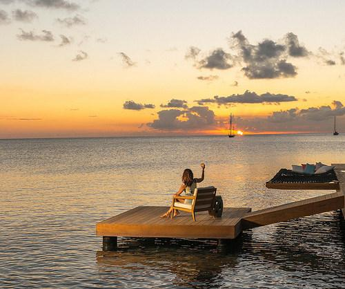 Salt Plage restaurant 6 minutes from Ocean Song Villa. Great for sunset drinks & tapas. Opens 4:00PM