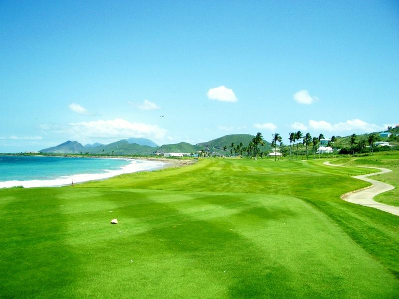Royal St. Kitts 18 hole Championship Golf Course, 15 minutes drive from Ocean Song Villa.