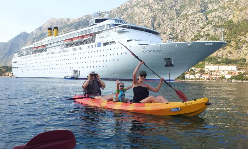 Kayak hire, Kotor