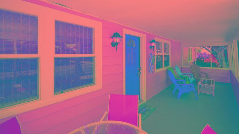 Screened Front Porch/Lanai
