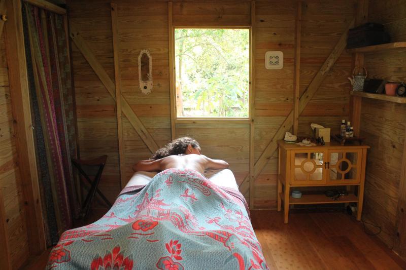receive a relaxing massage
