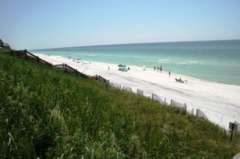 Beach Access in Seagrove Beach - Sits on a Bluff