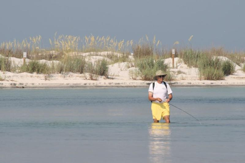 Fishing in the Coastal Dune Lakes