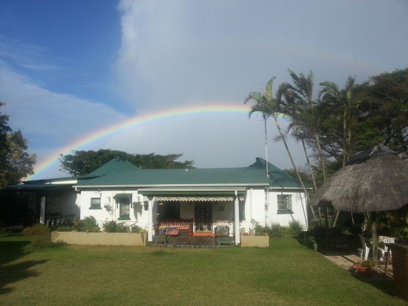 rainbow over Pinnacles