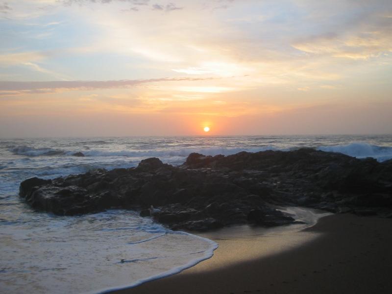 sunrise on Tweni beach