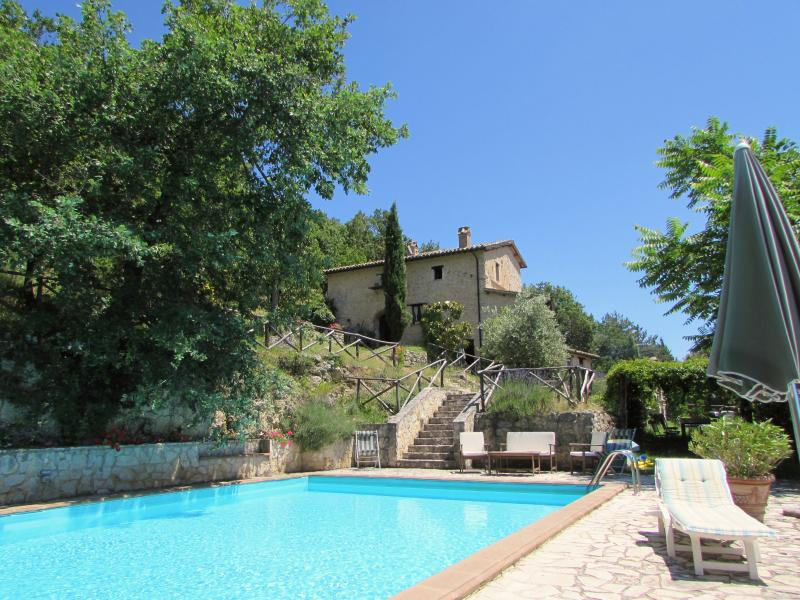 La Loggia, San Mamiliano, holiday rental in Spoleto