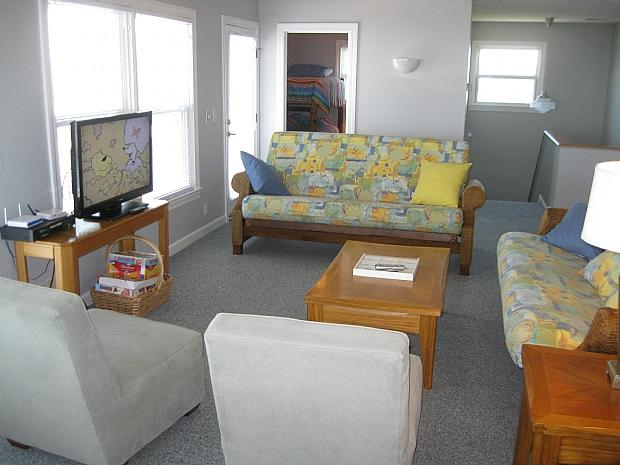 living area upstairs