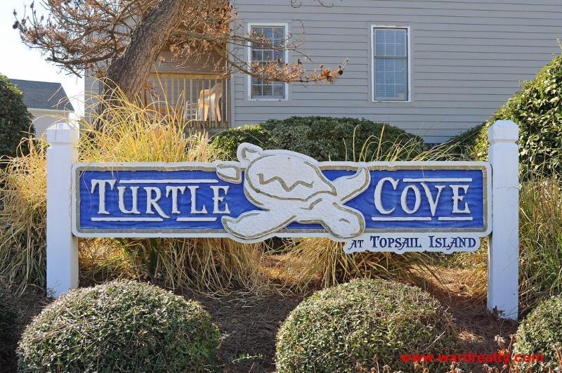 Turtle Cove Sign