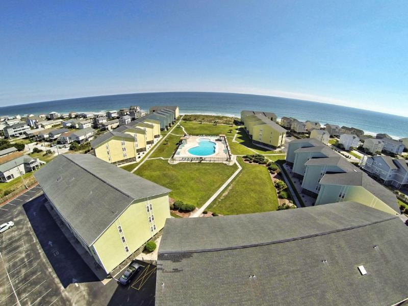 Aerial View of Surf Condos II