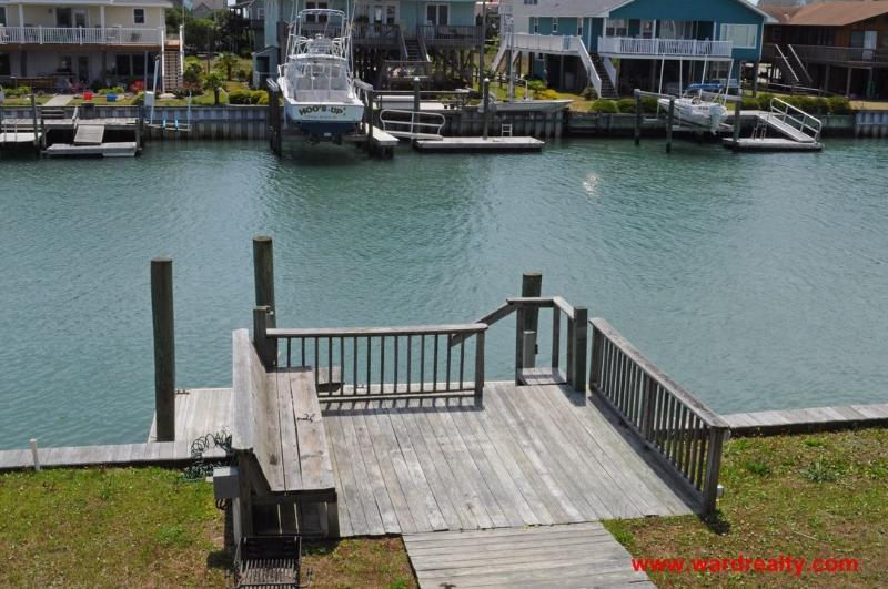 Pier with Boat Dock and Floating Dock