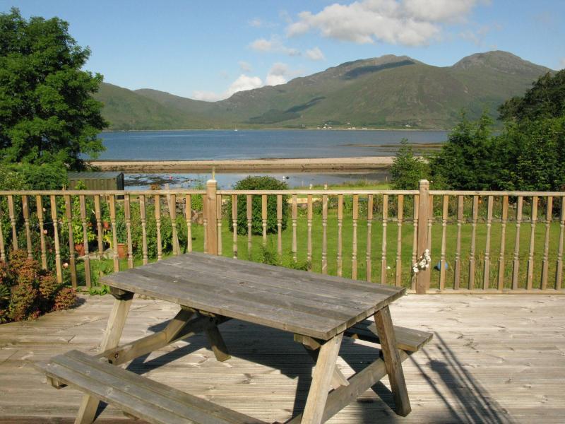 Beautiful views over Kylerhea to Skye