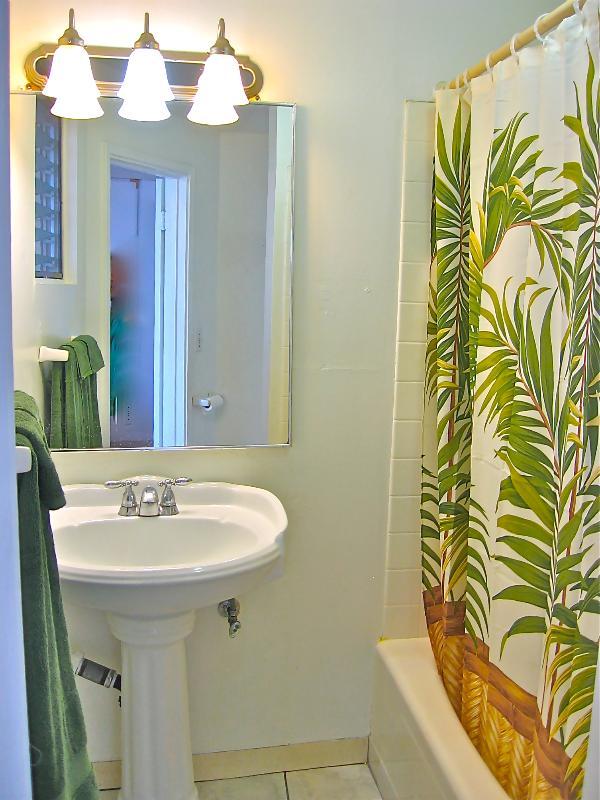 Uitnodigende badkamer
