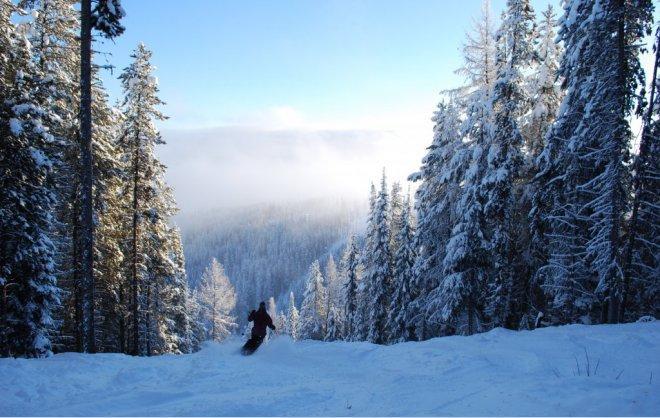 Mañana soleada Ski Run