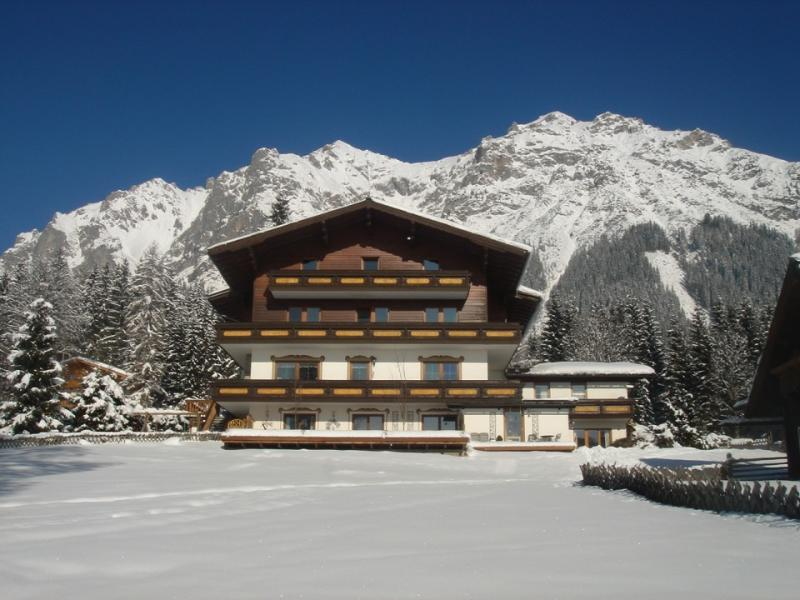 The Pension Hoffelner in winter
