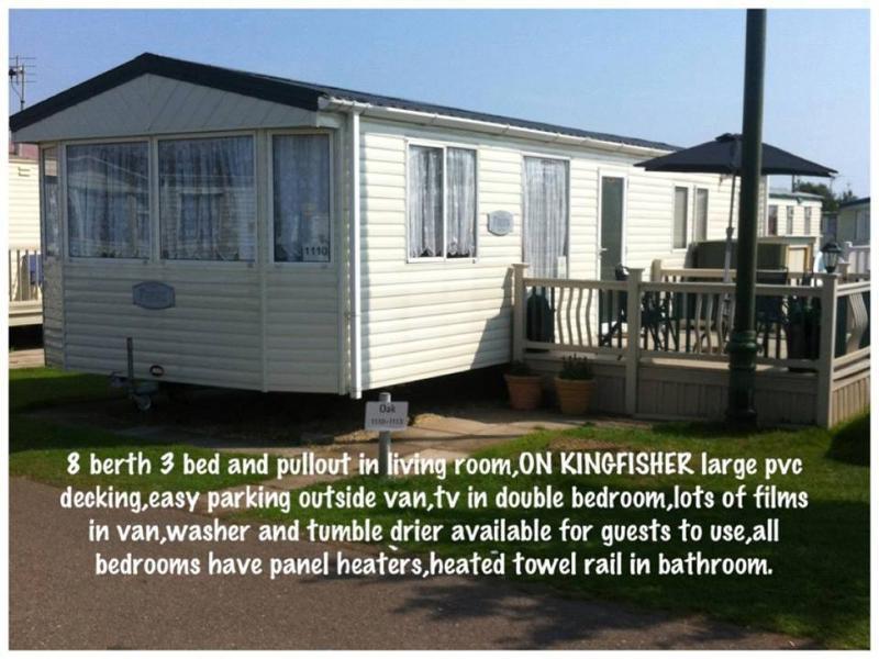 Kingfisher Park, Ingoldmells, Skegness 8 berth, alquiler de vacaciones en Woodhall Spa