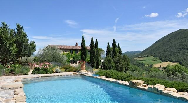 Santa Caterina  - stunning position and swimming pool