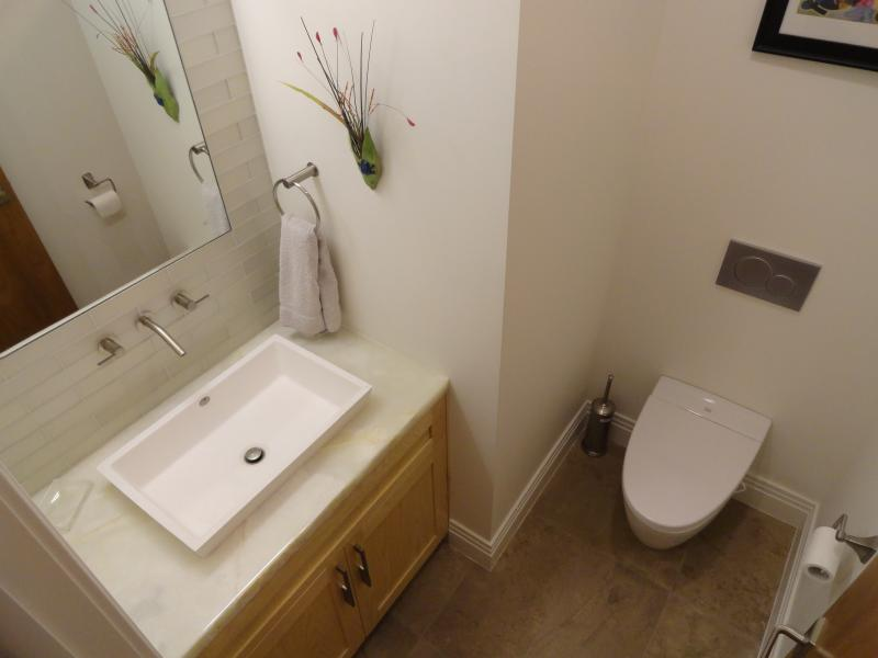 Powder Bath for Dining and Living Room Area
