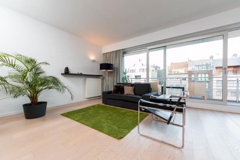 Moderne, open & lichte woonkamer