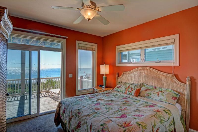 King Bedroom (1st floor shares bath w/ bunk room)