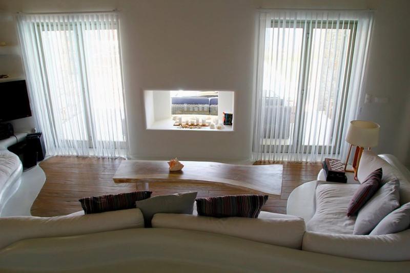 The split level lounge