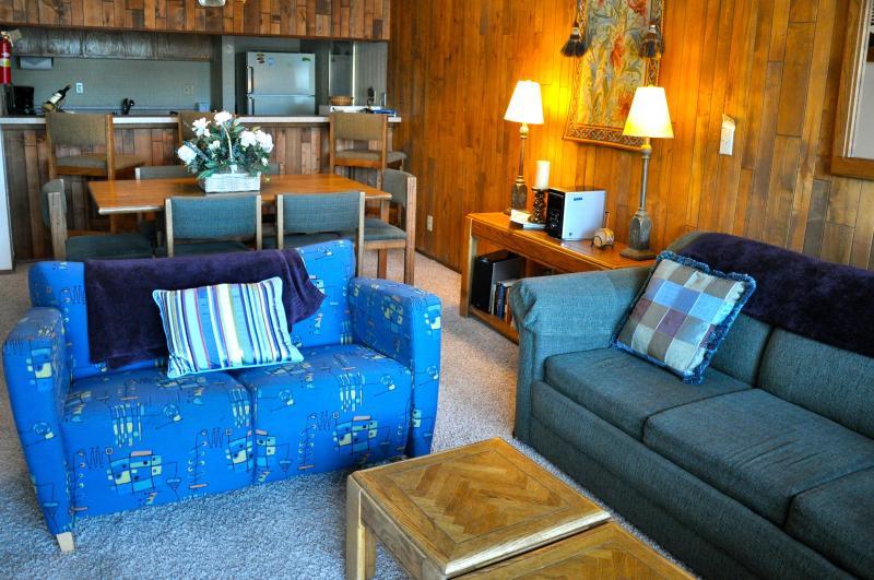 Sala de estar & a área de refeições