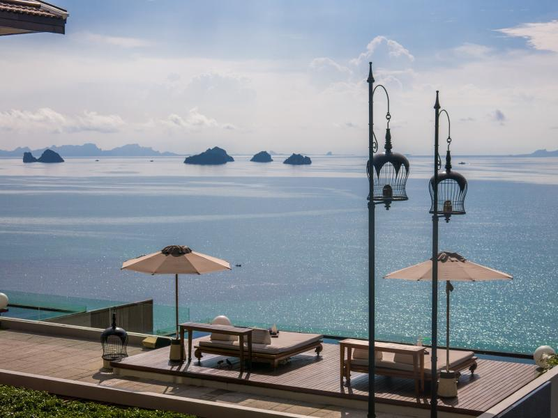 Seaview Villa at a 5-star branded Resort on Samui, holiday rental in Soi Leamset