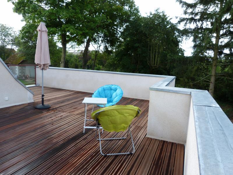 La grande terrasse privée