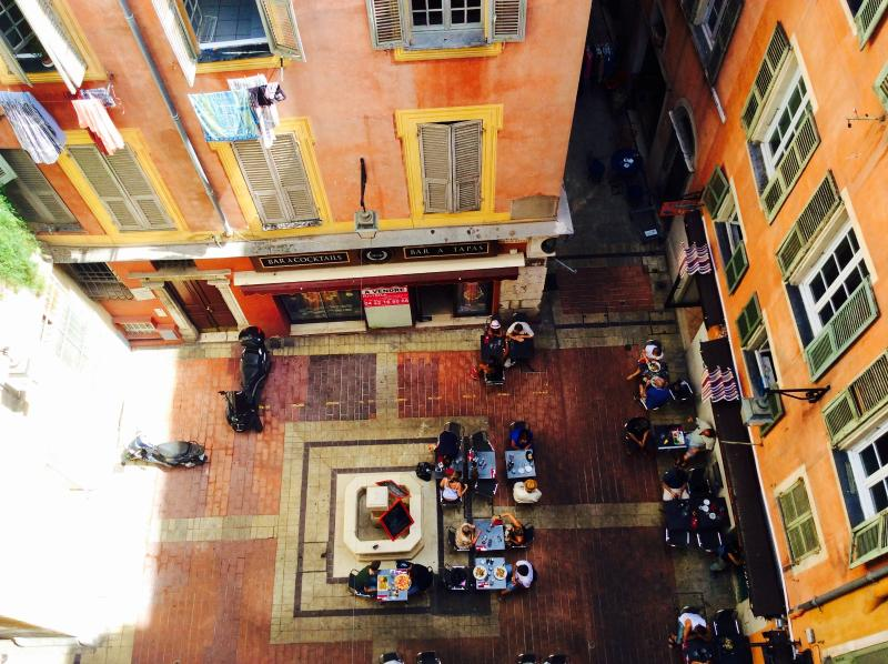 View from the window onto Place Vielle