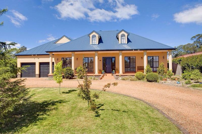 Stately designer home in Bowral