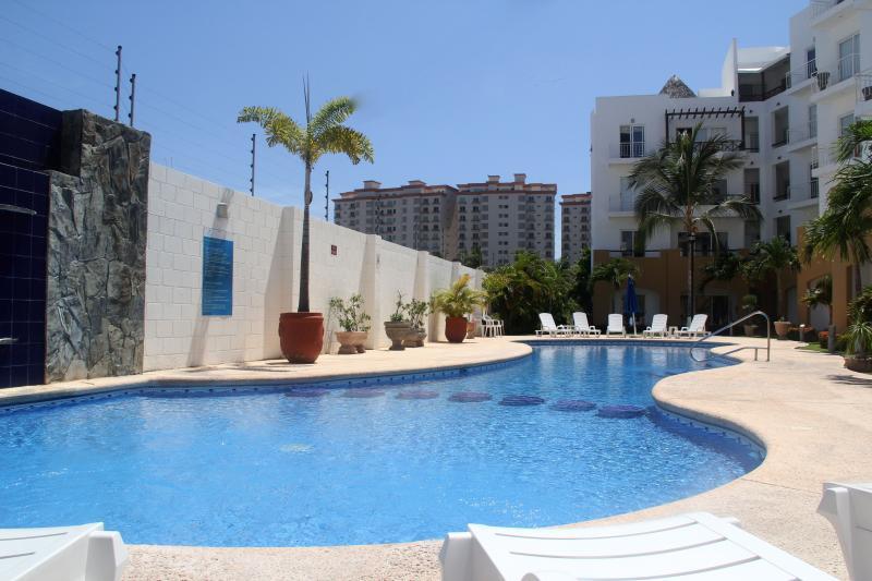 Heated pool at Villas Marina Gardens