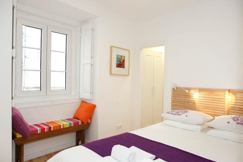 Slaapkamer met Queen Size Double Bed