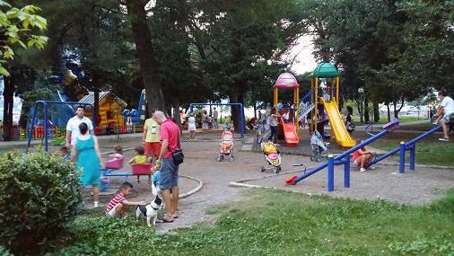 Playground in Kotor,  1 km