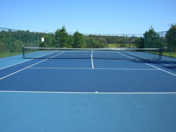 I campi da tennis a Highgate Park.